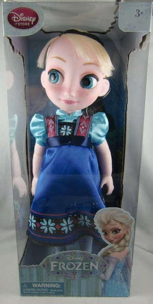 겨울왕국 Elsa Toddler Doll