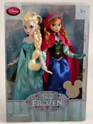 Frozen Elsa and Anna 11'' Doll Set - Disney Store