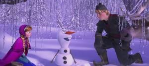 《冰雪奇缘》 Olaf Clip