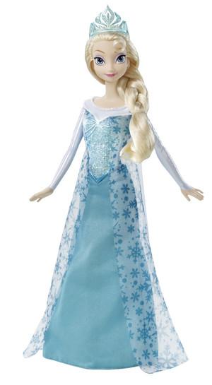 frozen Sparkle Elsa Doll