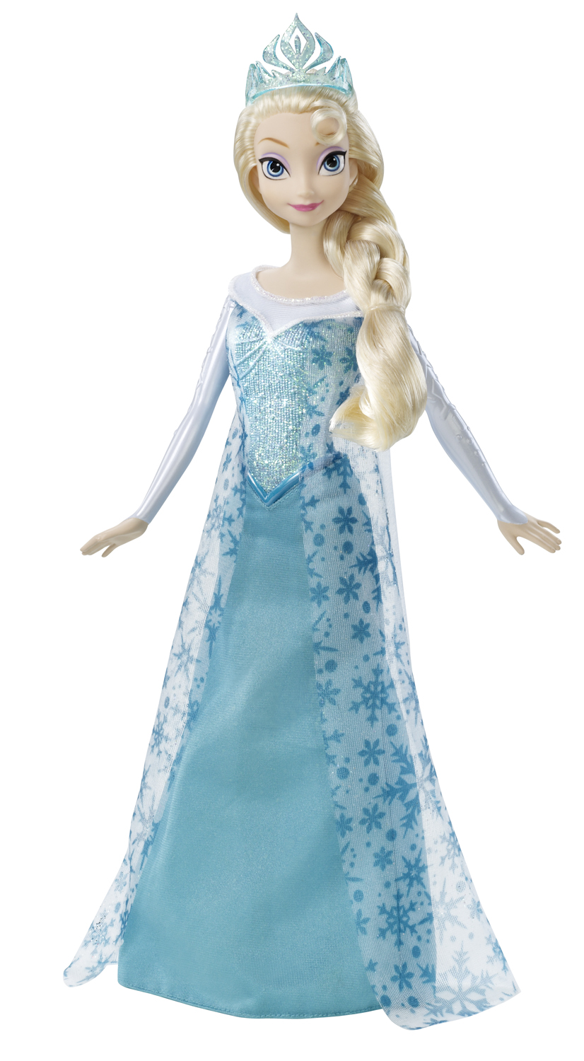 Elsa and anna frozen sparkle elsa doll
