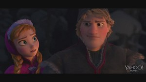 "Frozen ""Wolf Chase Clip"""