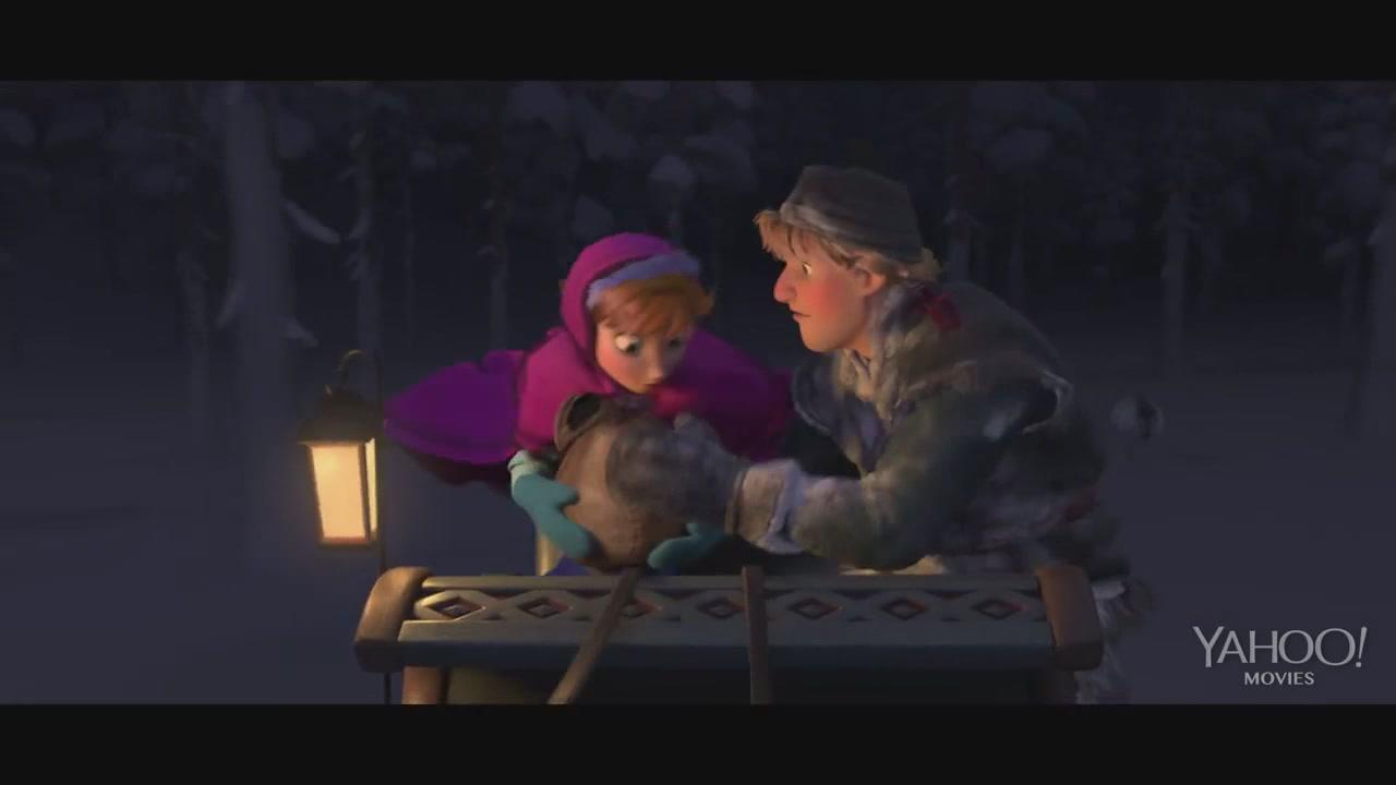 "Frozen ""Wolf Chase"" Clip - Kristoff Photo (35922249) - Fanpop"
