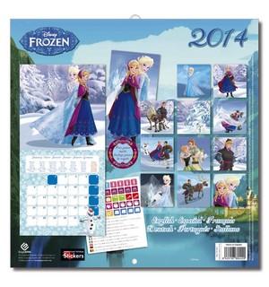Холодное сердце Calendar