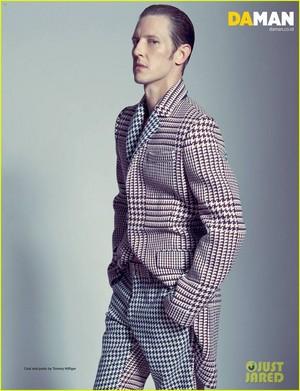 Gabriel Mann- DaMan Magazine 2013