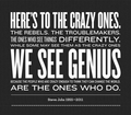 Genius - quotes photo