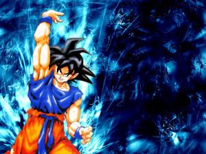 Goku kertas dinding 2