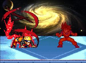 Гоку vs Наруто