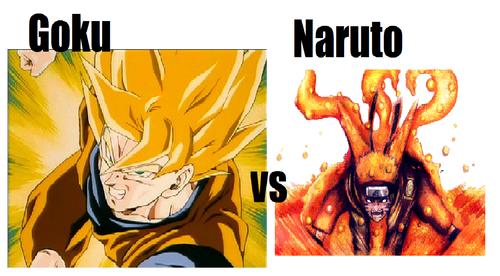 anime debat wallpaper with anime titled goku vs naruto