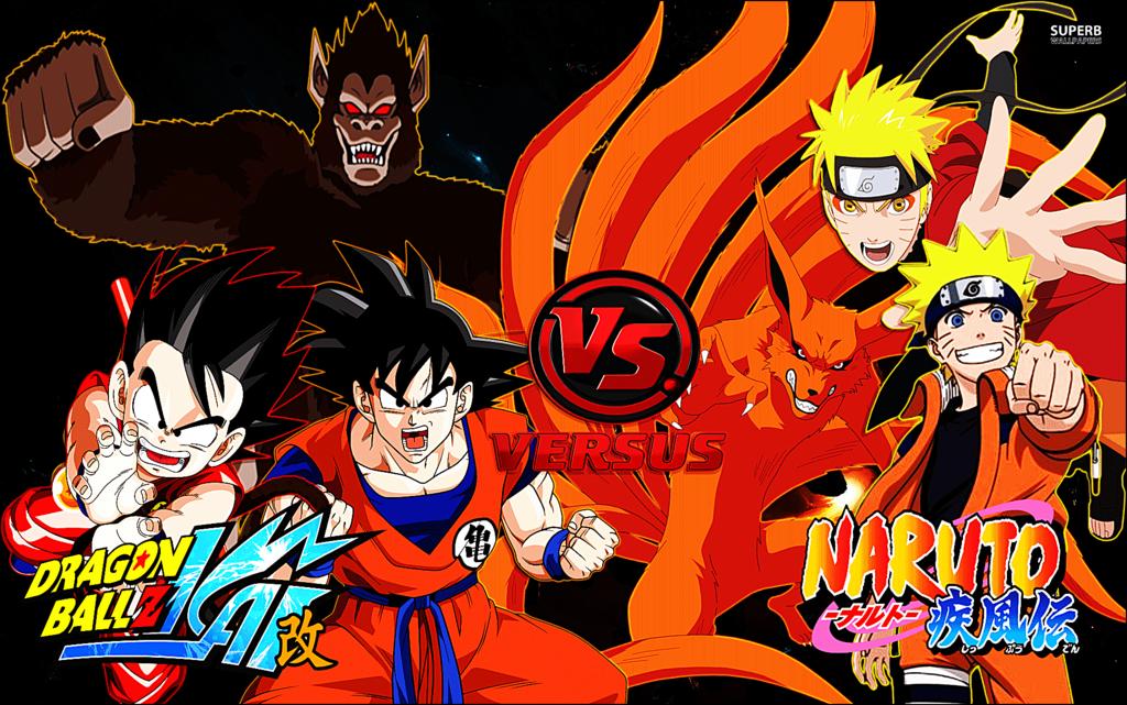 vs naruto Goku