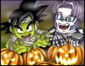 Goten and Trunks Хэллоуин