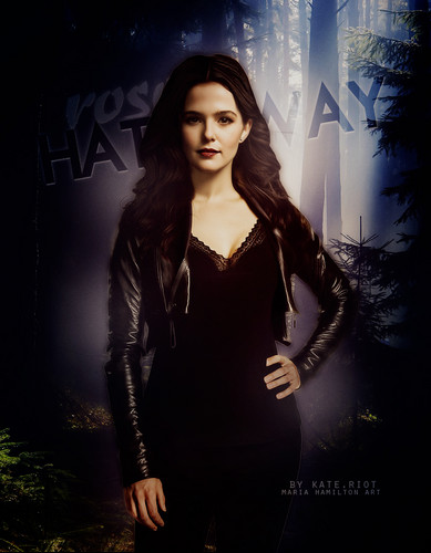 Vampire Academy wallpaper probably containing a well dressed person, an outerwear, and a box coat entitled Guardian Rose Hathaway