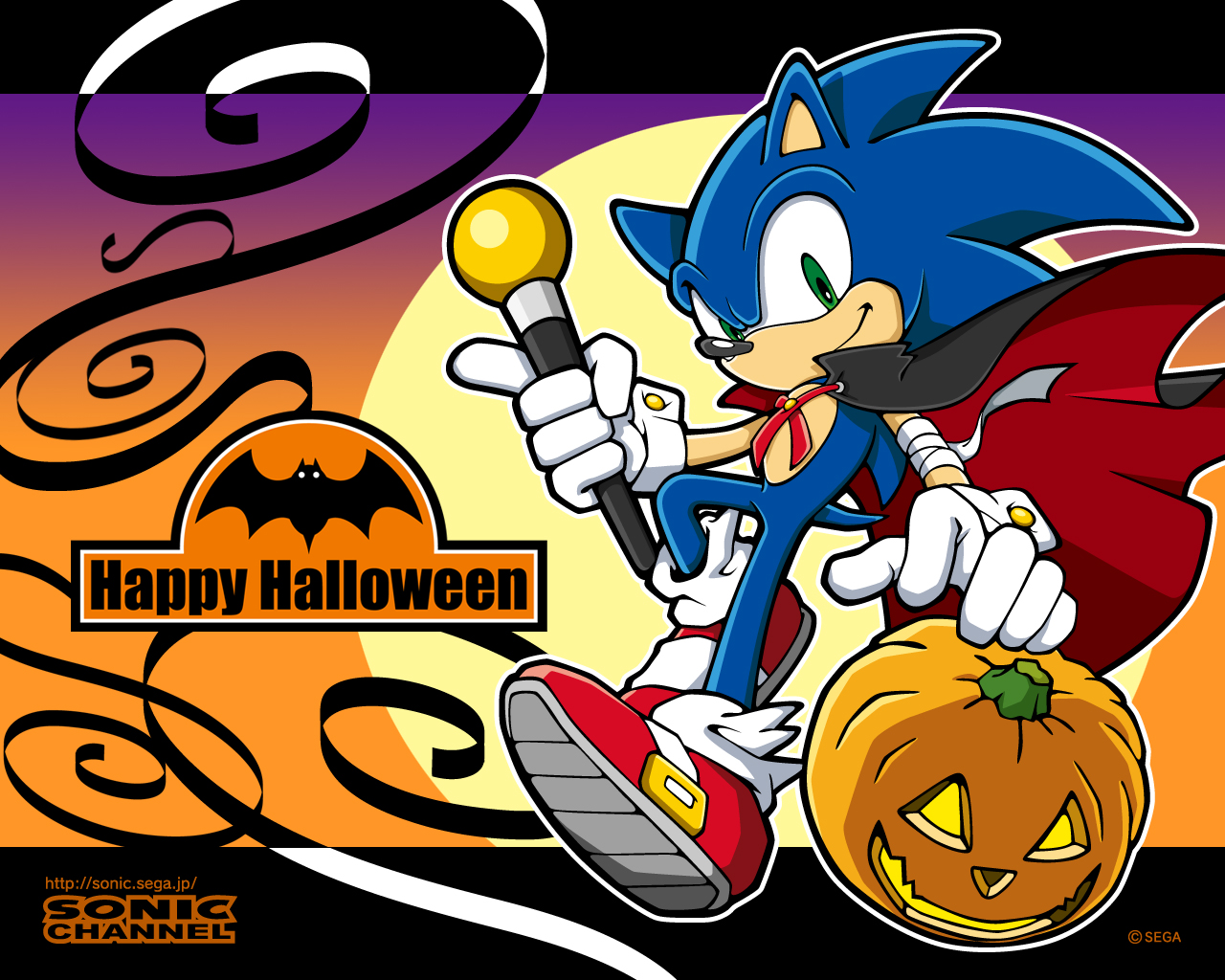Sonic The Hedgehog Happy Halloween Hedgehog Halloween Sonic