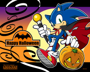 万圣节前夕 Sonic