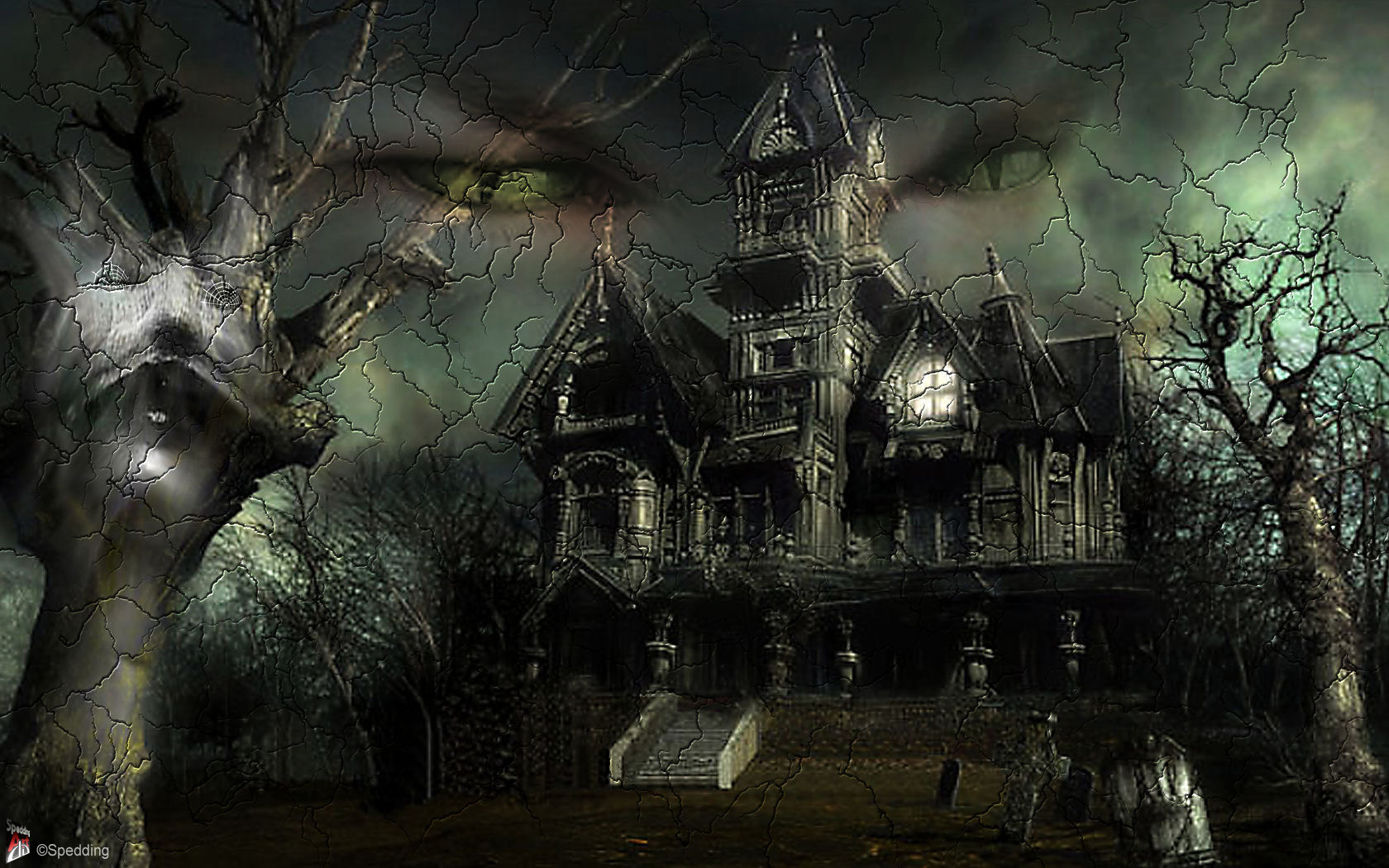 haunted house wallpaper with sound - photo #49