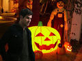 Halloween with Nick Burkhardt - GRIMM - halloween fan art