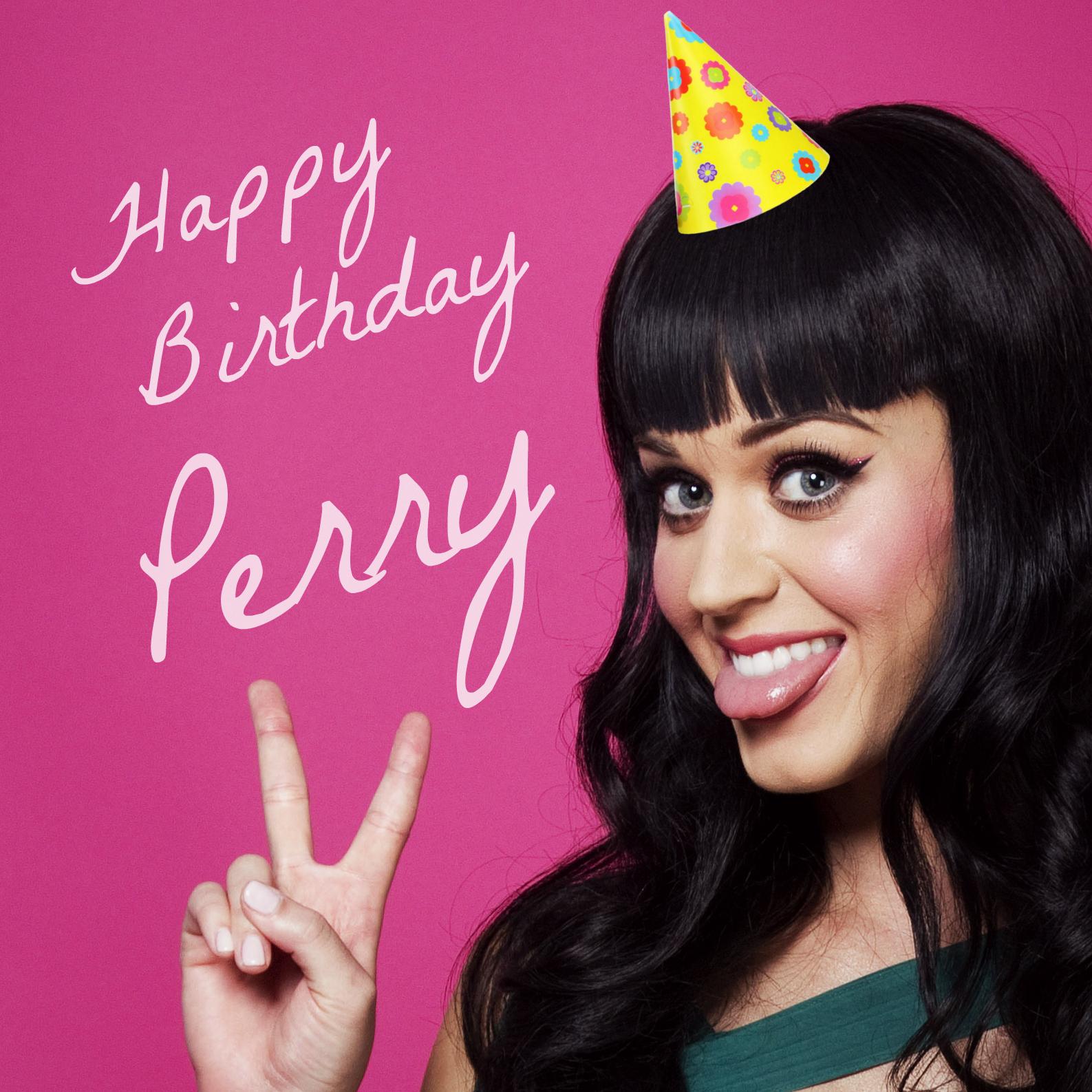 Happy Birthday Katy - Katy Perry Fan Art (35919756) - Fanpop