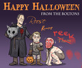Happy Halloween from the Dreadfort! - game-of-thrones fan art