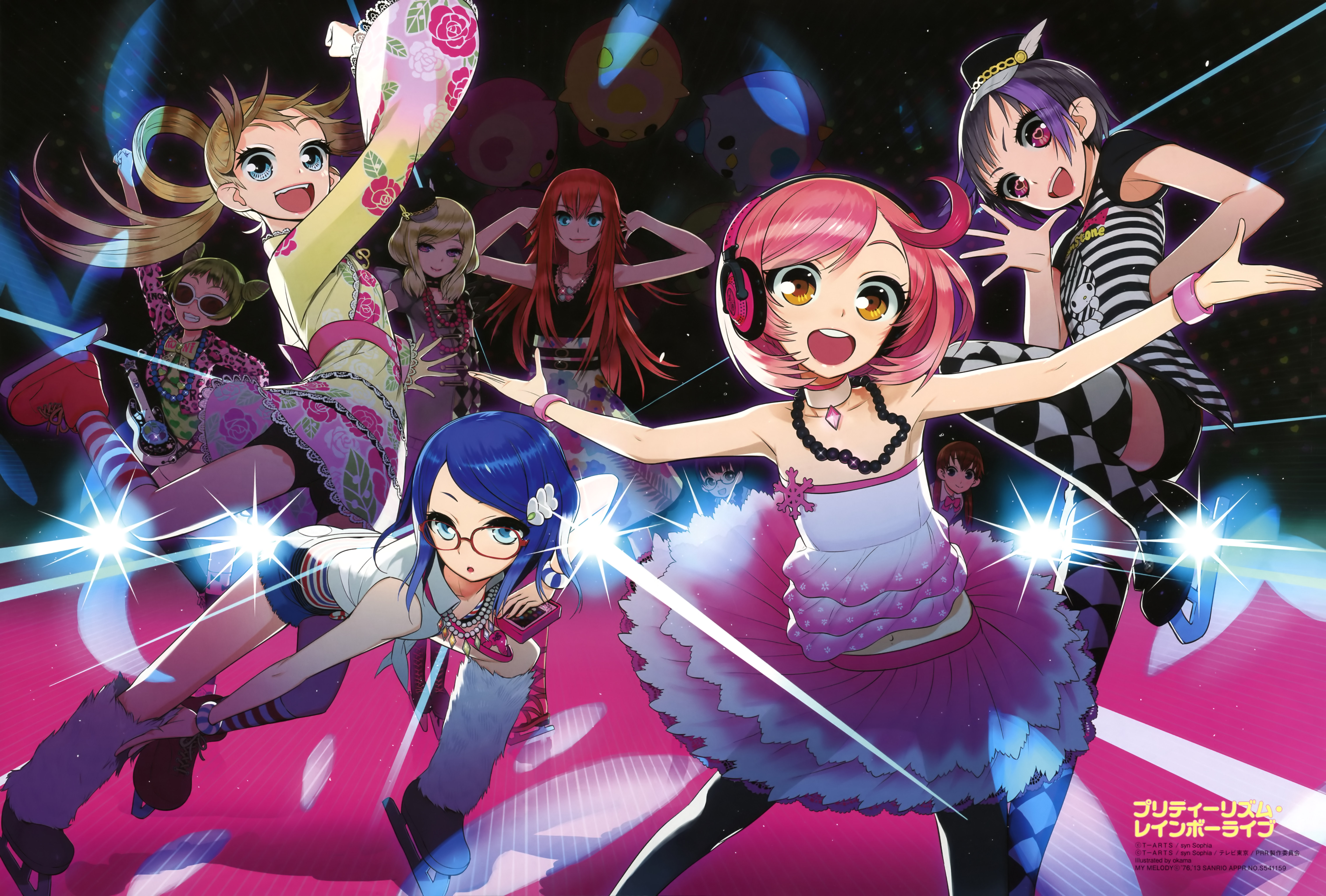 Pretty Rhythm Rainbow Live Images Happy Rain Belle Rose HD Wallpaper And Background Photos