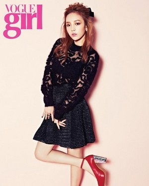 Hara for 'Vogue Girl'