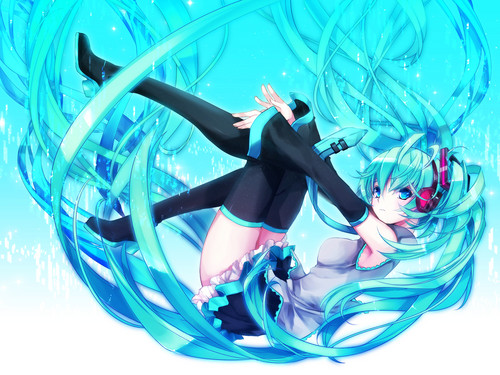 Anime wallpaper called Hatsune Miku