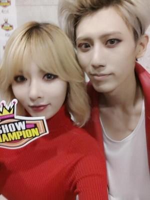 Hyuna and Hyunseung