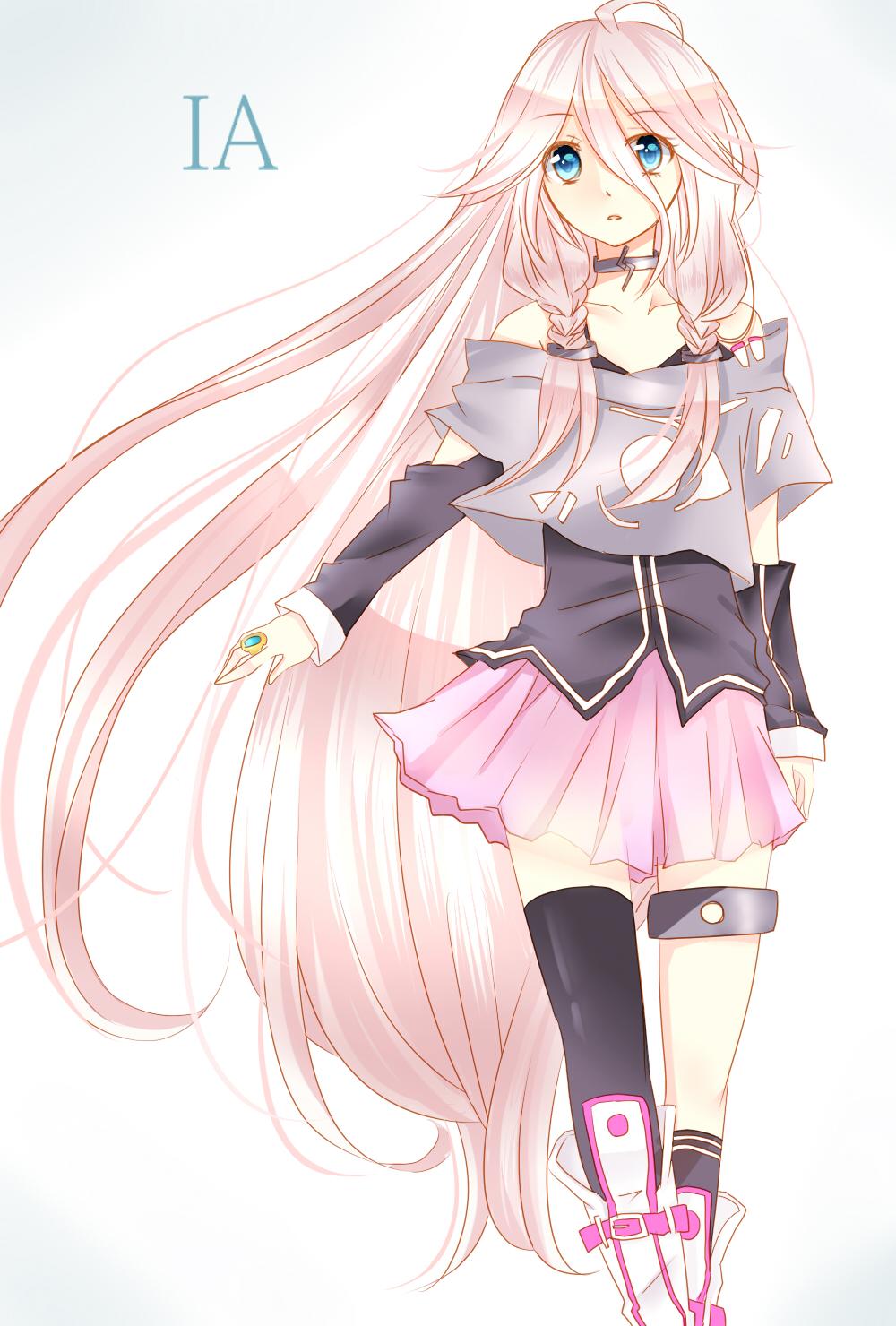 Ia Vocaloid Anime Girls Fan Art 35986287 Fanpop