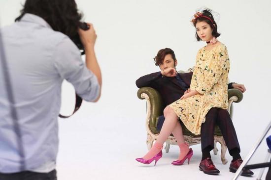 IU(アイユー) and Jang Geun Suk 防弾少年団 写真 from 'Pretty Man'