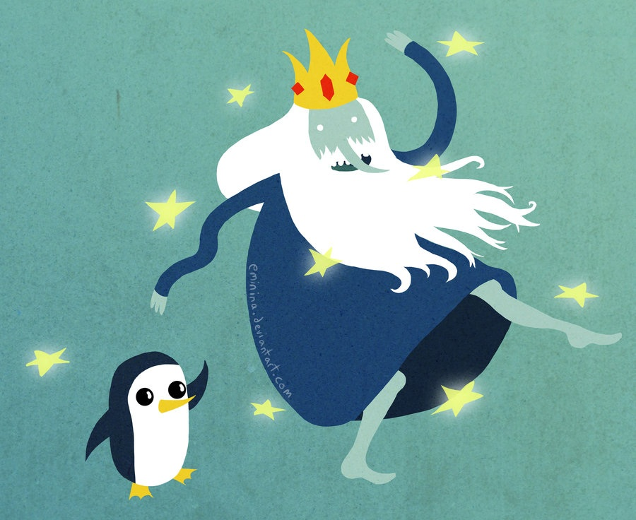 Ice King And Gunter Adventure Time With Ice King And