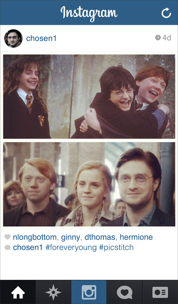 harry and hermione are twins