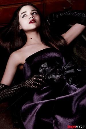 India Eisley - Teen Vogue October 2013