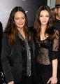 India Eisley and her mother actress Olivia Hussey at