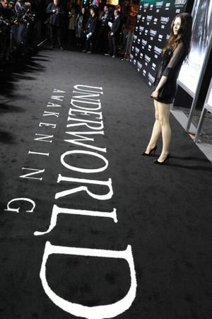 "India Eisley at ""Underworld Awakening"" - Los Angeles Premiere"