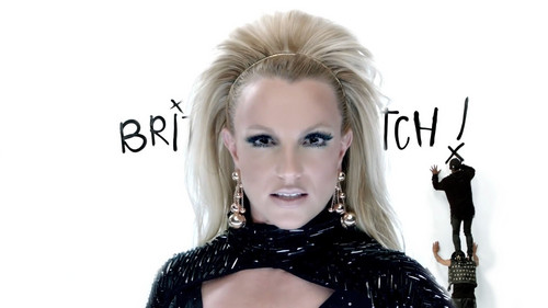 ब्रिट्नी स्पीयर्स वॉलपेपर probably with a portrait entitled It's Britney कुतिया, मतलबी !