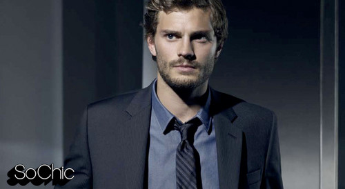 Fifty Shades of Grey wallpaper containing a business suit and a suit titled Jamie Dornan,aka Christian Grey