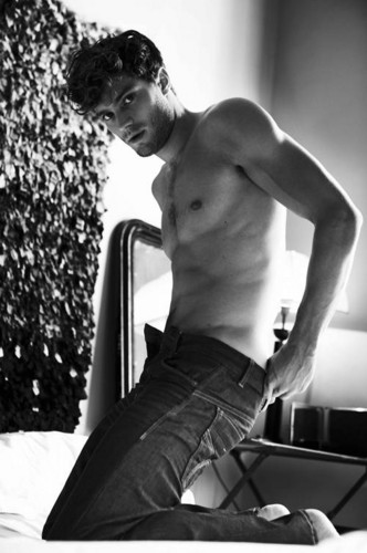 Fifty Shades of Grey wallpaper possibly containing a hunk and skin entitled Jamie Dornan,aka Christian Grey