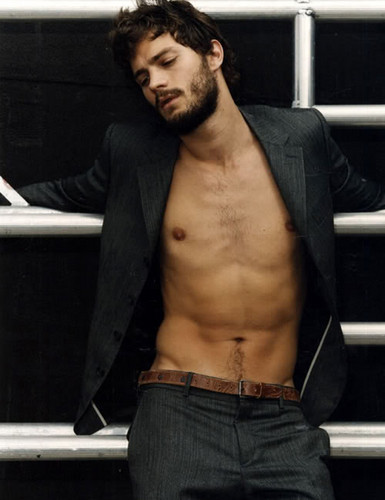 Fifty Shades of Grey wallpaper containing a hunk titled Jamie Dornan aka Christian Grey