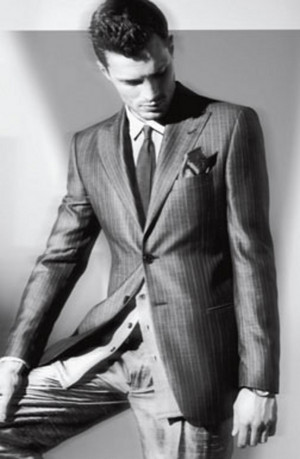 Jamie Dornan,aka Christian grey