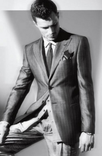 50 Sắc Thái hình nền with a business suit, a suit, and a three piece suit entitled Jamie Dornan,aka Christian grey