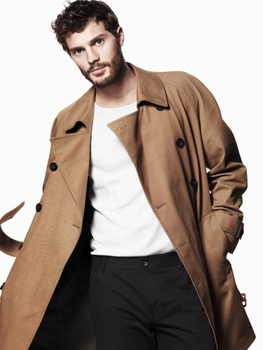 Fifty Shades of Grey Hintergrund with a trench coat, a erbse jacket, and a burberry entitled Jamie Dornan,aka Christian grey