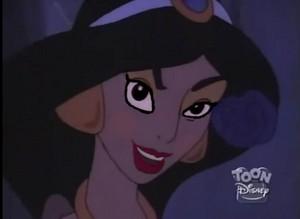 Jasmine's seductive look