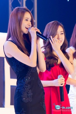 Jessica and Yoona 'GiRL de Provence' Thank 你 Party