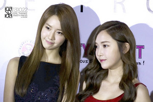 Jessica and Yoona 'GiRL de Provence' Thank আপনি Party