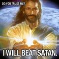 Jesus the conquer