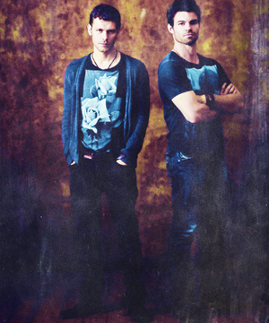 Joseph morgan & Daniel Gillies | Comic Con 2013 Portraits