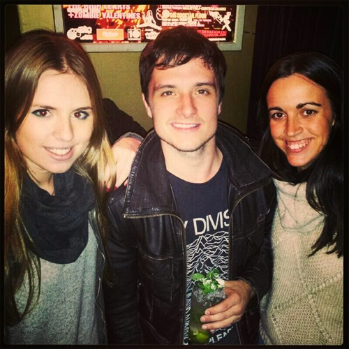 Josh Hutcherson And Chloe Bridges