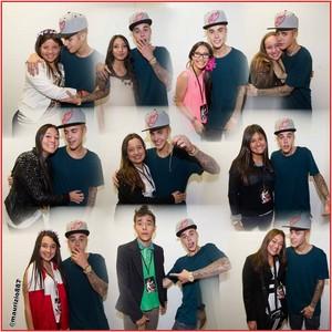Justin Bieber meet & greet Bogota Colombia 2013
