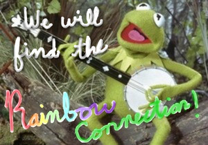 Kermit arcobaleno