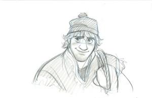 Kristoff character visual development sketch