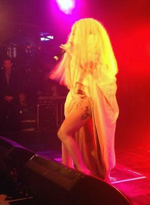 Lady Gaga performs 'Venus' at G-A-Y